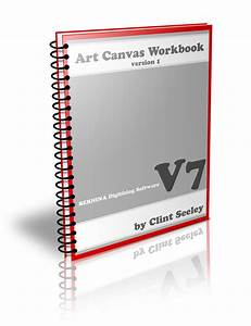 Bernina V7 Digitizing Software Art Canvas Workbook Project