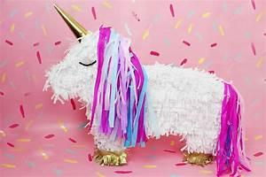 Party Deko Tipps : diy einhorn pi ata selber machen diy idee f r deine n chste party ~ Whattoseeinmadrid.com Haus und Dekorationen