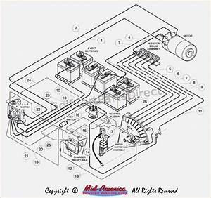 1985 Club Car 36v Wiring Diagram