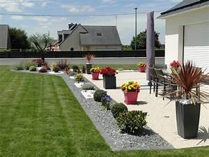 decoration jardin exterieur With fontaine exterieure de jardin moderne 10 amenagement de jardin et terrasse moderne en 42 photos