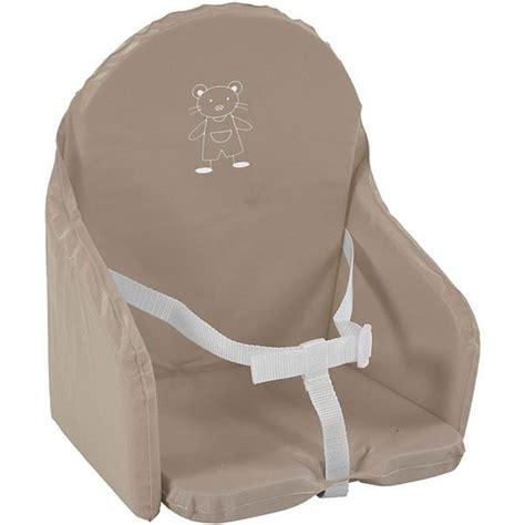 coussin de chaise avec sangle taupe marron achat vente chaise haute 3159059048918 cdiscount