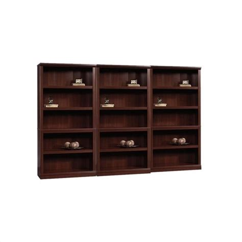 sauder bookcase with features