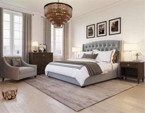 super relaxing elegant bedroom interior design  beige