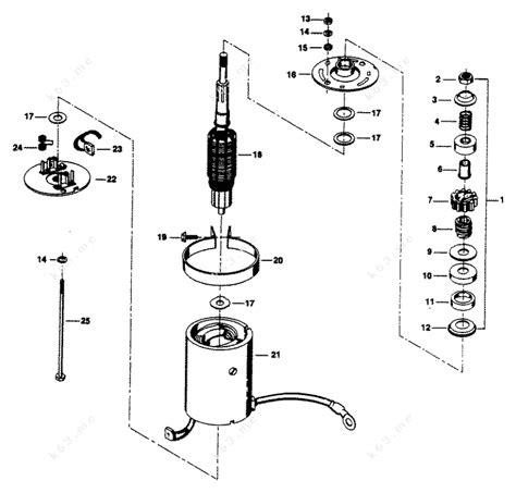 Bendix Starter Part Diagram by Chrysler 35 1984 Electric Starter Parts Catalog
