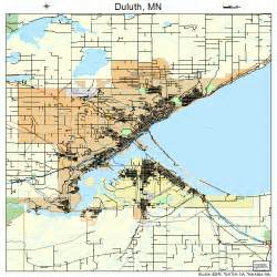 Duluth MN Map