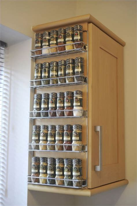 kitchen spice rack ideas wall spice rack ideas home interior design styles