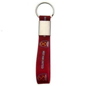 West Ham United Fc Utd Silicone Keyring Key Ring Chain | eBay