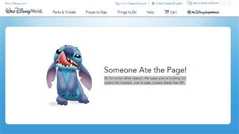 walt disney world website  goofy  system outage