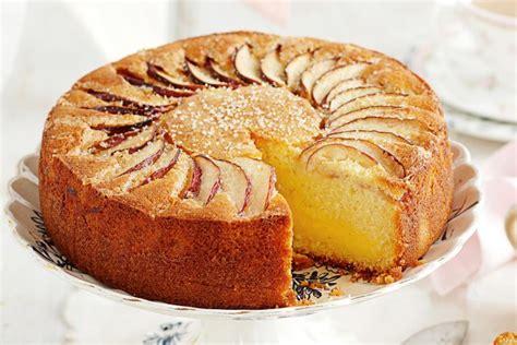 apple  vanilla tea cake