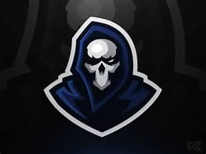 Grim Mascot Logo by Koen van Vliet Dribbble
