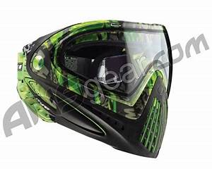 2012 Dye Invision Goggle I4 Pro Mask Lime Tiger