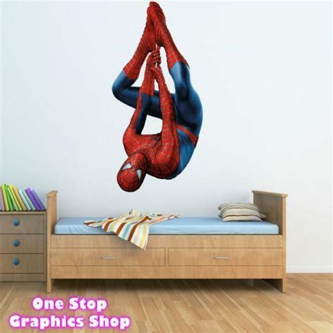 spiderman wall stickers ebay
