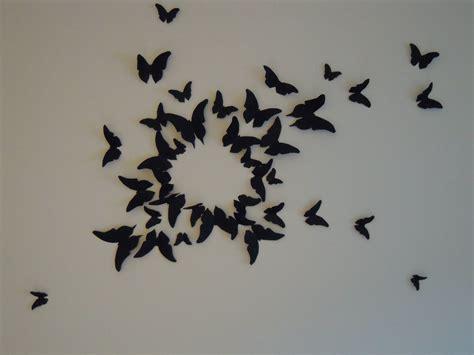 deco murale fait maison diy d 233 co murale type 171 gossip envol 233 e de papillons 171 paillettes et chocolats