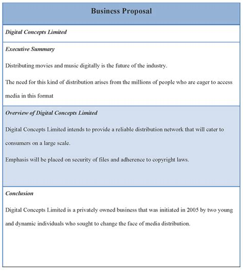Business Template Business Template Sle Of Business