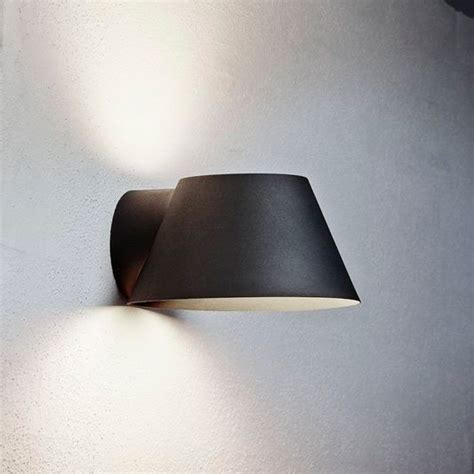 nordlux view  outdoor wall light black