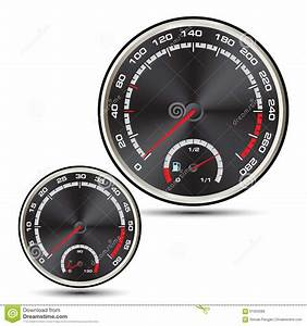 Car Speedometer Vector Stock Vector - Image: 61003088