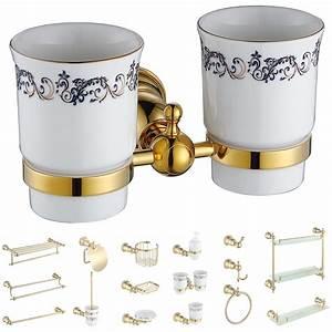 Bad Accessoires Gold : bad accessoires set badset badzubeh r zubeh r serie gold sanlingo bad badzubeh r sonstiges ~ Whattoseeinmadrid.com Haus und Dekorationen