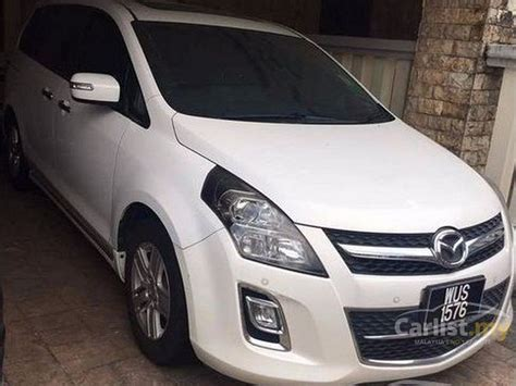 Mazda 8 2010 2.3 In Selangor Automatic Mpv White For Rm