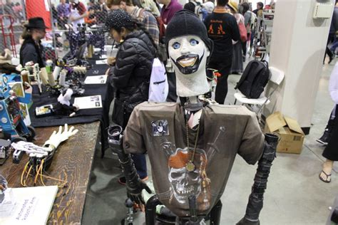 The Very Cute And The Very Scary Robots Of Maker Faire