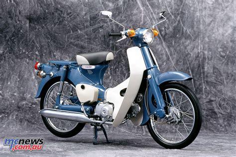 Honda Cub by Honda Cub 110 Commemorative Edition Concept Mcnews