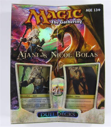 Mtg Magic Duel Decks Ajani Vs Nicol Bolas Englisch Ebay