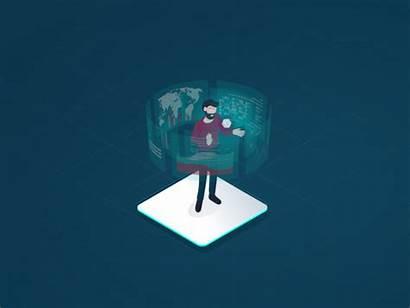 Data Analysis Animated Creative Animation Dribbble Icon