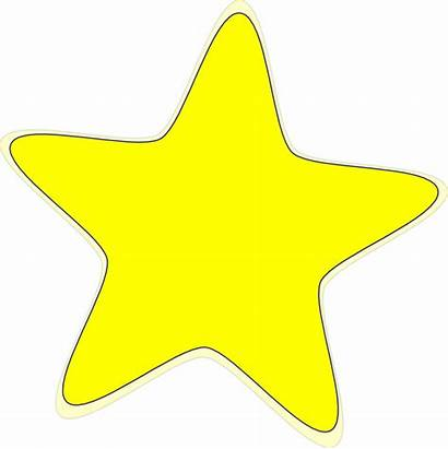 Star Yellow Clip Clipart Clker Cliparts