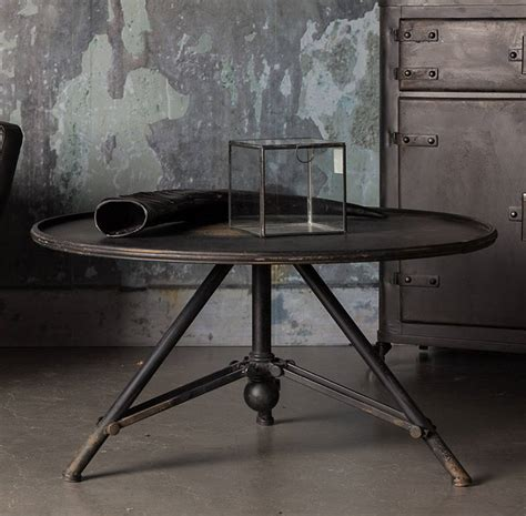 Industrial Iron Living Room And Lounge Coffee Table By