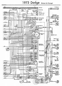 Electrical Wiring Diagram Of 1973 Dodge Coronet And