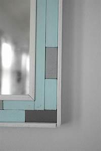 DIY mirror frame corner • Our House Now a Home