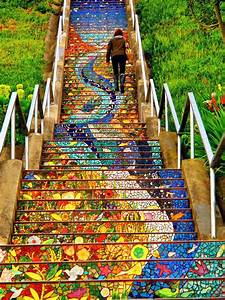 Stairs, Turned, Into, Amazing, Piece, Of, Art