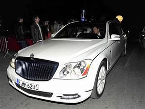 Kanye West in Maybach Landaulet Convertible Sedan ...