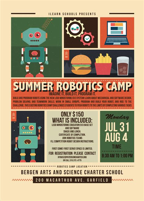 register summer robotics camp passaic arts science charter school