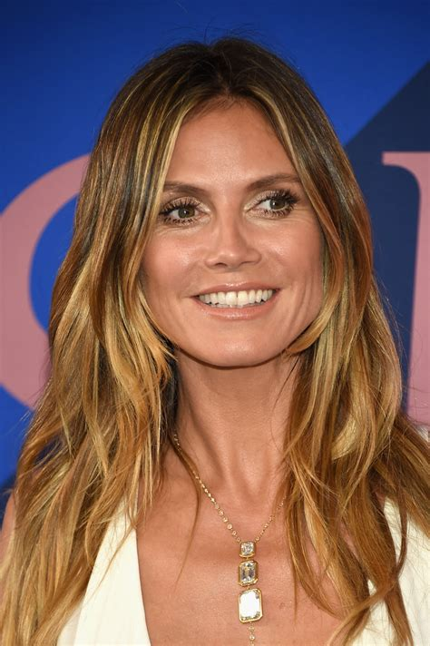 Heidi Klum Photos Cfda Fashion Awards