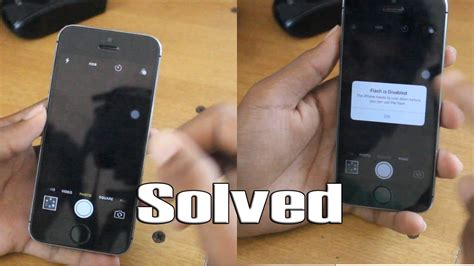 iphone 5s flashlight not working iphone 5 5s 6 6s black problem and flash disabled