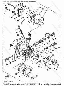 Yamaha Waverunner 1994 Oem Parts Diagram For Carburetor