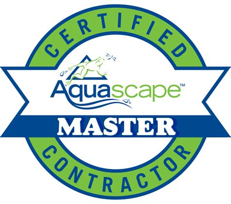 Logo Aquascape by Why Hire A Cac R A Landscaping