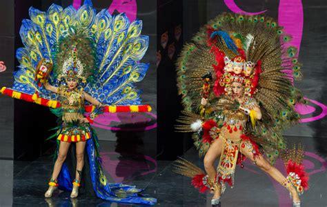kostum nasional mirip indonesia kalah dari nicaragua di miss universe kabar berita artikel