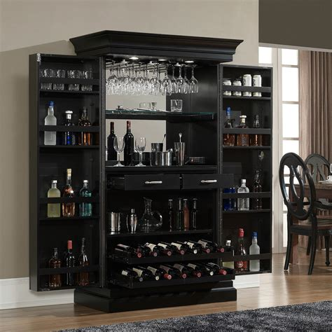 Home Wall Bar by Black Wine Cabinet Duck Boats Boston