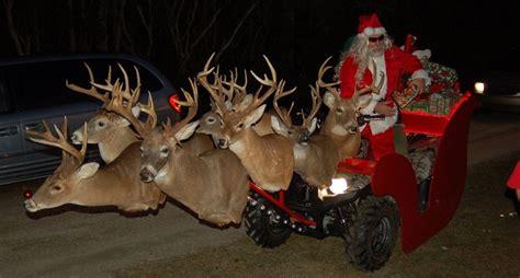 hunting themed christmas   naughty list