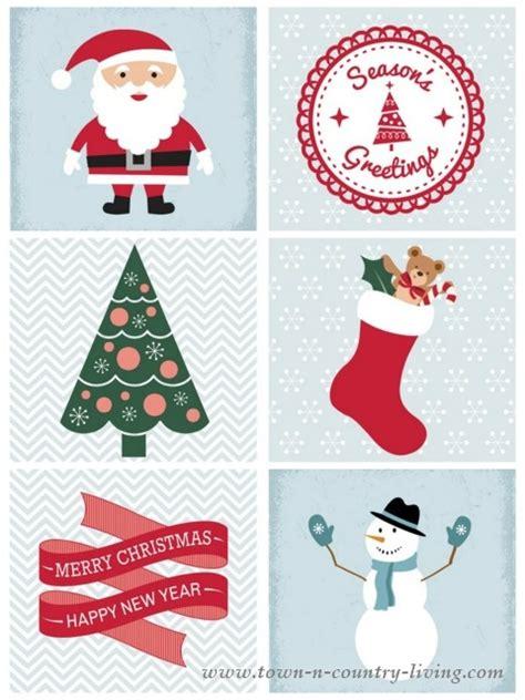 Christmas Mantel And Free Printable  Town & Country Living