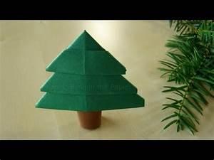 Tannenbaum Falten Anleitung : origami baum einfachen tannenbaum falten ~ Lizthompson.info Haus und Dekorationen