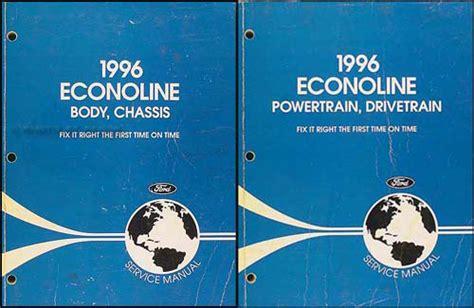 ford econoline van manual