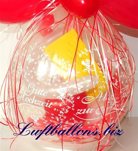 geschenkballon alles gute zur hochzeit hochzeitsgeschenk