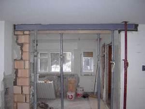 Stahlträger Tragende Wand Einsetzen : wanddurchbruch stahltr ger metallteile verbinden ~ Lizthompson.info Haus und Dekorationen