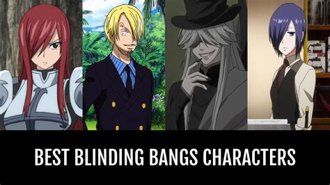 blinding bangs characters anime planet
