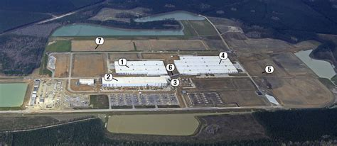 volvo carves manufacturing site  berkeley county woods