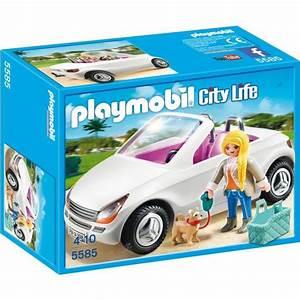 Cabriolet 4 Places Pas Cher : playmobil 5585 voiture cabriolet achat vente univers miniature cdiscount ~ Gottalentnigeria.com Avis de Voitures