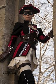 Cosplay Assassin Creed Black Flag the Puppeteer