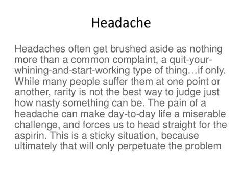 medicinal plants  headache pain  tension  series